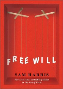 Free Will, by Sam Harris, book cover