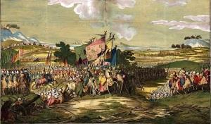 Armies at battle